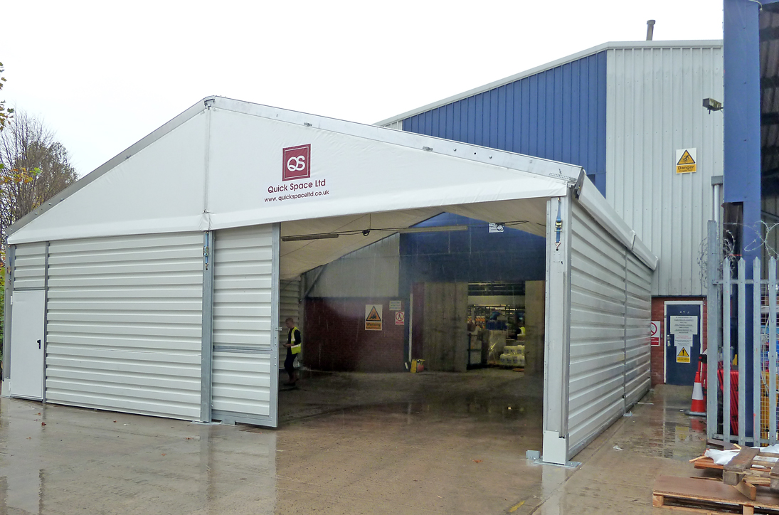 We can create an effective loading bay and storage area