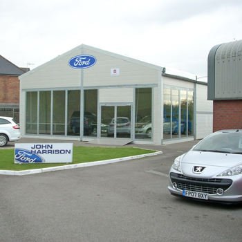 With our showrooms you can be in business within days